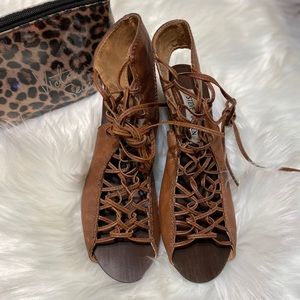 Brown Steve Madden Gladiator Sandal